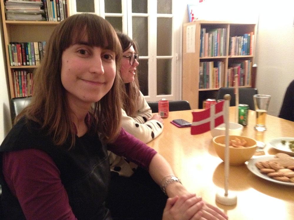 Alba Tornero, estudiante de danés