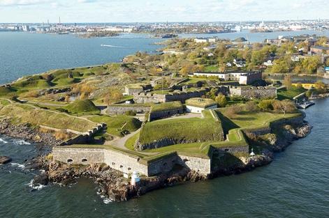 Suomenlinna, un mirador privilegiado al mar Báltico
