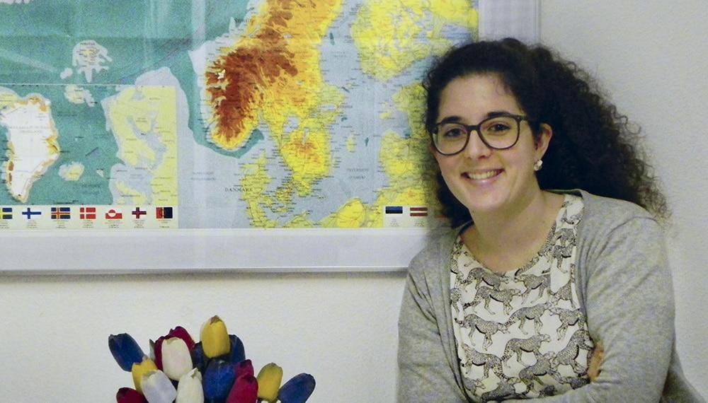 Emma Gil, una médico estudiando sueco en Institut Nòrdic Barcelona