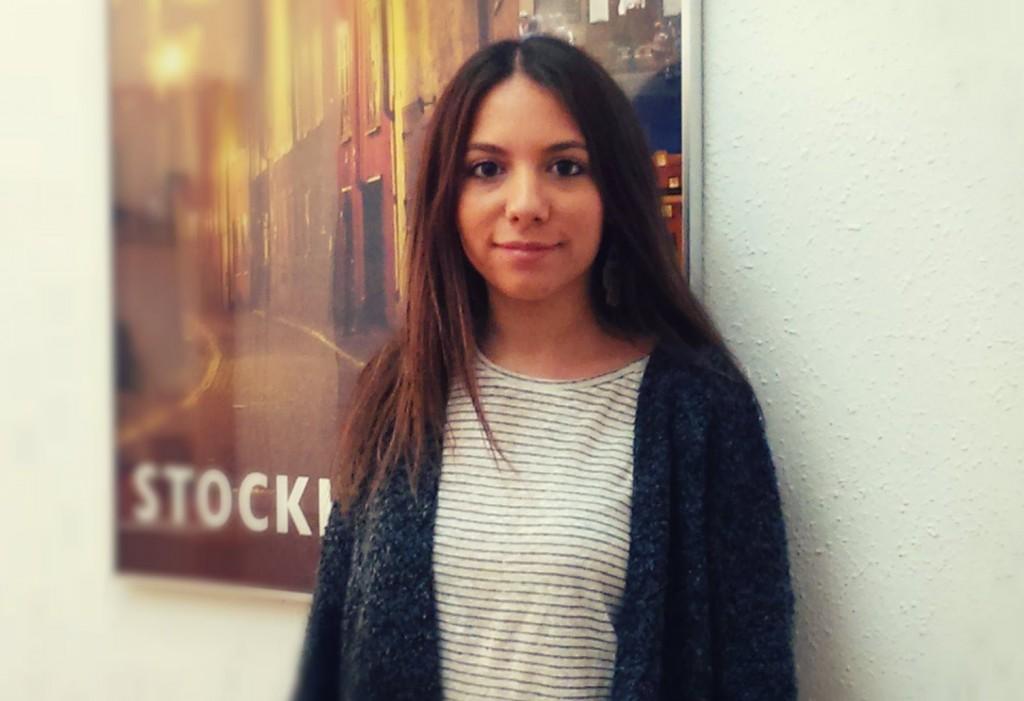"""Júlia Díez: """"El idioma sueco cada vez me gusta más""""."""
