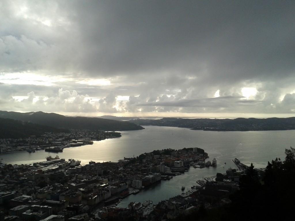 Estrella de Pablos, Monte Fløyen, Bergen